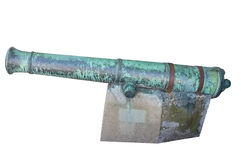Old English cannon Royalty Free Stock Photos