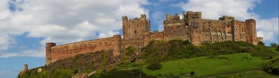 Old English Castle Bamburgh Royalty Free Stock Photography