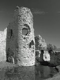 Old English Castle Tower stock image