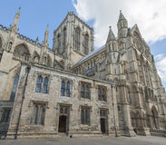 Old english cathedral in city center Royalty Free Stock Image
