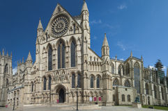 Old english cathedral in city center Stock Photos