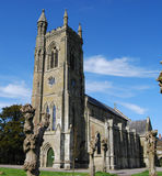 Old English Church. Village church at Shaftesbury, Dorset Stock Photos