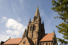 Old English Church Wirral North West Royalty Free Stock Image