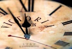 old english clock Stock Photo