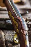 Old English colonial rifle Royalty Free Stock Photography