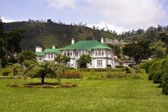 Old english colonial style hotel. In Nuwara Eliya Royalty Free Stock Photo