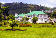 Old english colonial style hotel in Nuwara Eliya, Sri Lanka Stock Image
