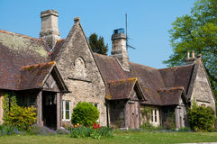 Old English cottage Royalty Free Stock Photo