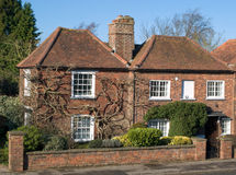 Old English cottage. Traditional old English country cottage, UK Stock Image