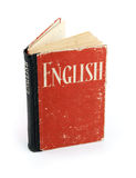 Old English Dictionary. On a white background Royalty Free Stock Photography