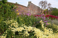 Old English Herbaceous Garden Border Stock Photos