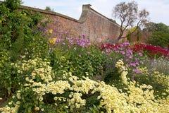 Old English Herbaceous Garden Border Stock Photos