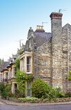 Old English houses. English houses in Cambridge, England Stock Image