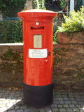 An old English letter box Stock Photo