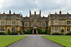 Old English Mansion Royalty Free Stock Images