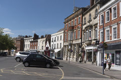 Old English market town of Devizes Wiltshire UK Stock Images