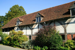 Old English medieval house Royalty Free Stock Image