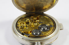 Old English pocket fob watch and chain Royalty Free Stock Photography