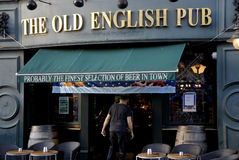 THE OLD ENGLISH PUB Royalty Free Stock Images