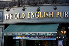 THE OLD ENGLISH PUB Stock Photography