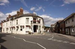 Old English pub in Hampshire England UK Stock Photo