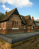Old English school house Royalty Free Stock Photography