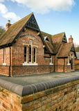 Old English school house Stock Image