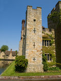 Old English stone built historic castle Stock Photos