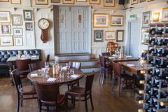 Old English victorian public house interior. Stock Photography
