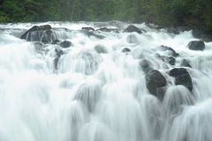 Old englishman falls Royalty Free Stock Images