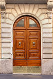 Old entrance door Royalty Free Stock Image