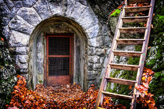 Old entrance Stock Photos