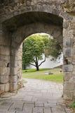 Old entrance gate to Evora Stock Image