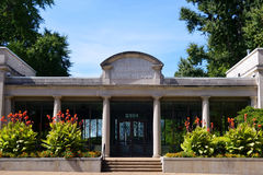 Old Entrance to Missouri Botanical Gardens Stock Photography