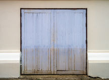 An old entrance wooden door Royalty Free Stock Photography
