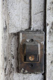 Old entry bell or buzzer Royalty Free Stock Photos