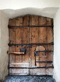 Old entry door in Nauders, Austria Royalty Free Stock Photo