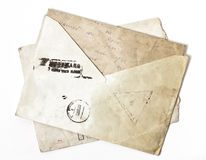 Old envelope Royalty Free Stock Photo