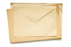 Old envelope Stock Images