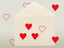Old envelope. Royalty Free Stock Photography
