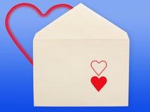 Old envelope. Stock Images