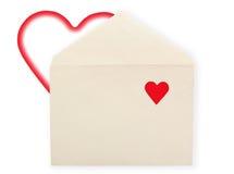Old envelope. Stock Image