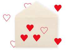 Old envelope. Royalty Free Stock Image