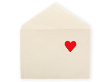 Old envelope. Royalty Free Stock Photo