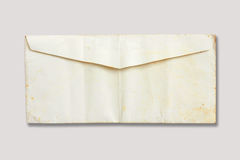 Old envelope. The Old envelope on white Stock Image