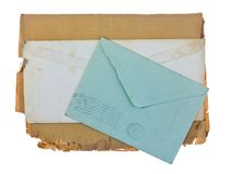 Old envelope Stock Image