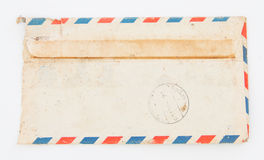 Old envelope on Royalty Free Stock Photo