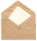Old envelope Stock Photo