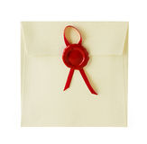 Old envelope close-up Royalty Free Stock Photography