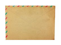 Old envelope. Stock Image